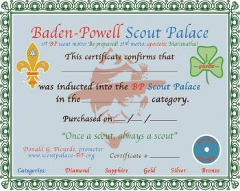 Inducted into the palace