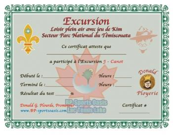 J - Excursion Canot