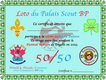 Loto 50/50 du Palais