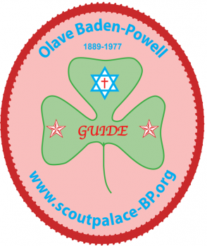 Olave Baden-Powell (autocollant)
