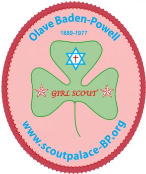 Olave Baden-Powell (sticker)