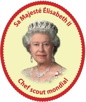 Reine Chef Scout (autocollant)
