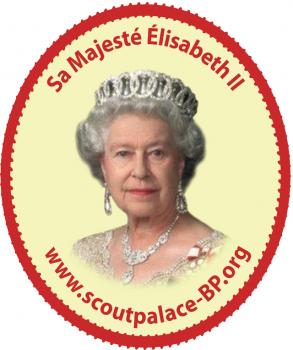 Reine Scoutpalace-bp.org (autocollant)
